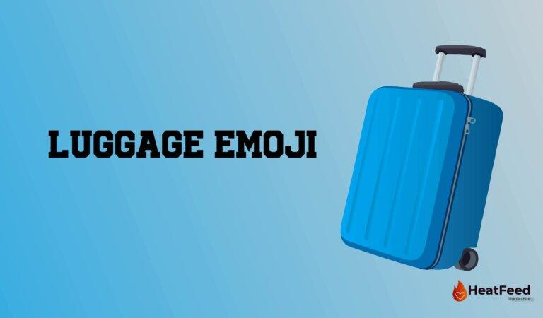 🧳Luggage Emoji