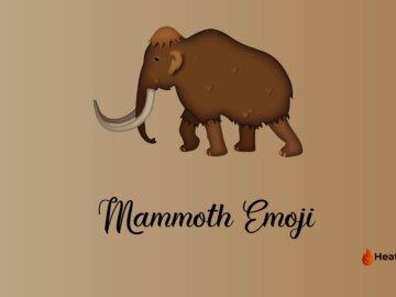 mammoth emoji