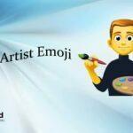 Man artist emoji