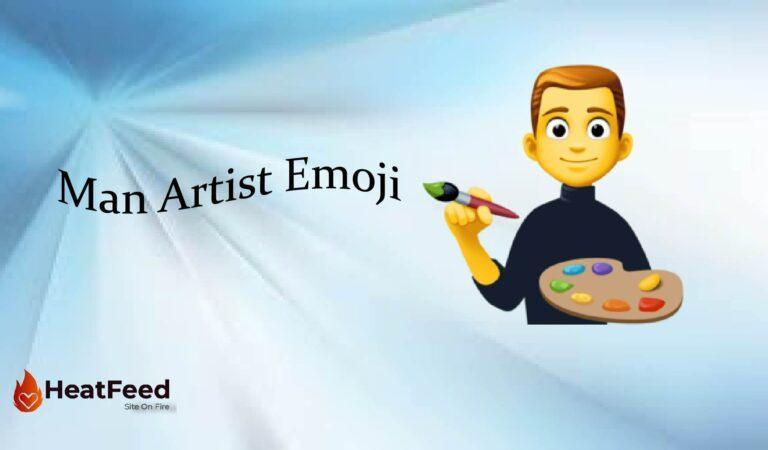 👨🎨 Man Artist Emoji