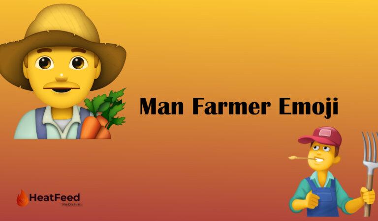 👨🌾Man Farmer Emoji