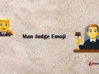 man judge emoji