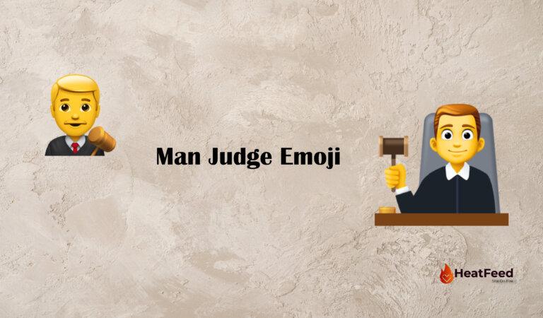 👨⚖️ Man Judge Emoji