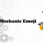Man mechanic emoji