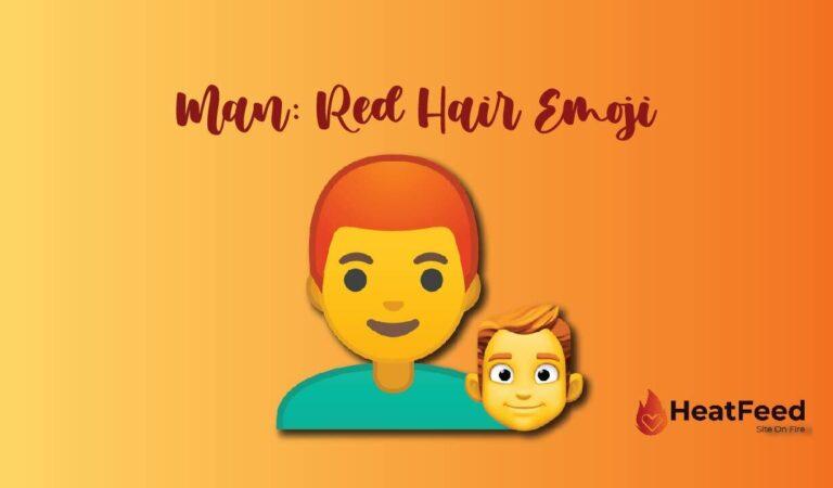 👨🦰Man: Red Hair emoji