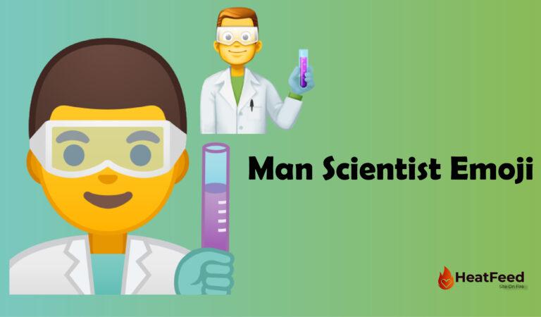 👨🔬 Man Scientist Emoji
