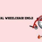 wheelchair emoji