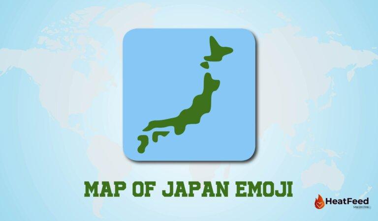 🗾 Map of Japan Emoji