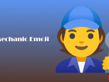 Mechanic Emoji