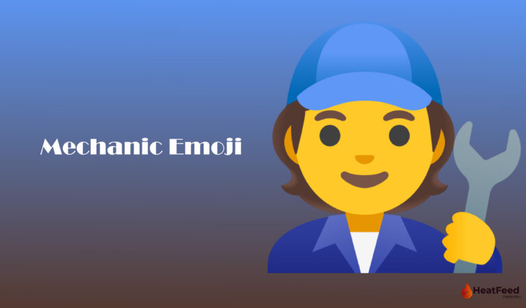 🧑🔧 Mechanic Emoji