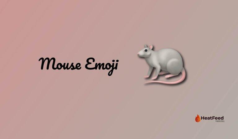 🐁 Mouse Emoji