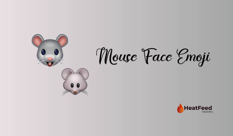 🐭 Mouse Face Emoji