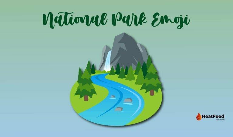 🏞️ National Park Emoji