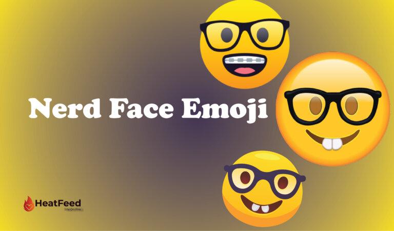 🤓 Nerd Face Emoji