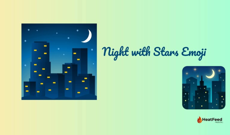 🌃 Night with Stars Emoji