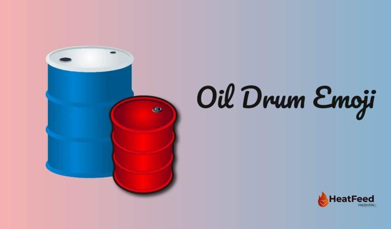 🛢️Oil Drum Emoji