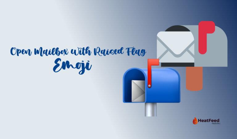 📬 Open Mailbox With Raised Flag Emoji