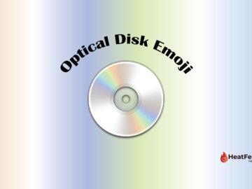 optical disk emoji