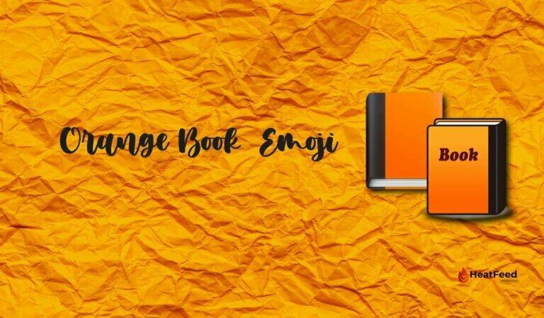📙 Orange Book  Emoji