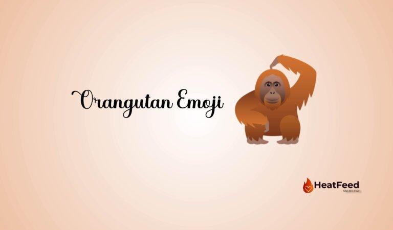 🦧 Orangutan Emoji