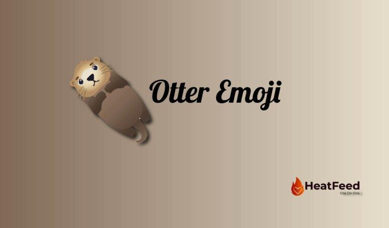 🦦 Otter  Emoji