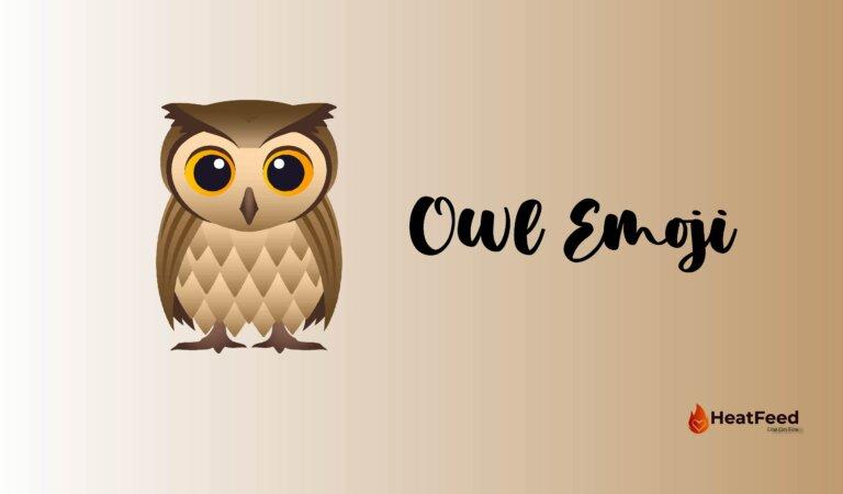 🦉 Owl Emoji