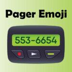 pager emoji