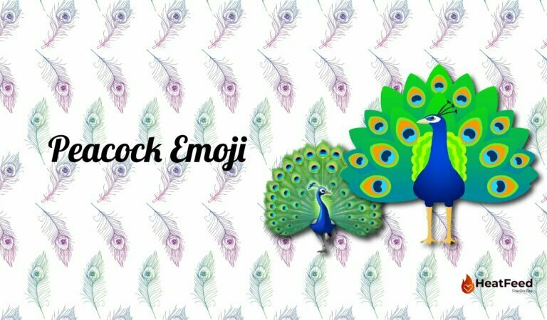 🦚 Peacock Emoji