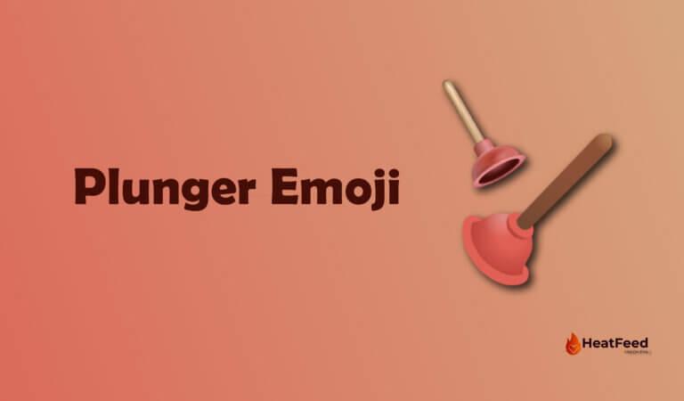 Plunger Emoji
