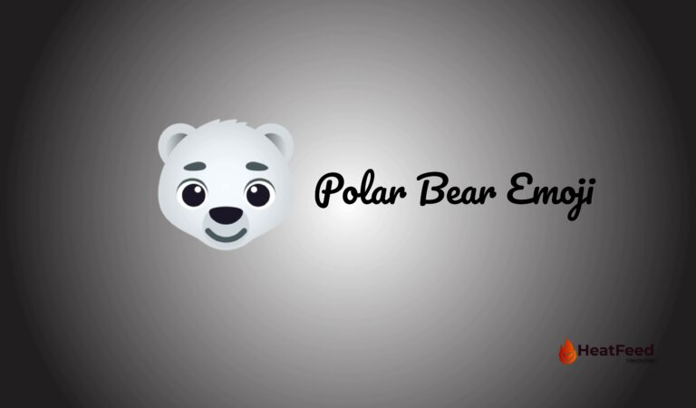 🐻❄️ Polar Bear Emoji