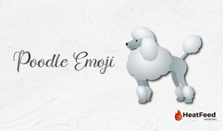 🐩 Poodle Emoji