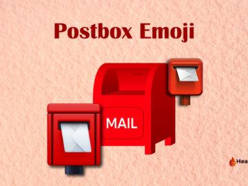 postbox emoji