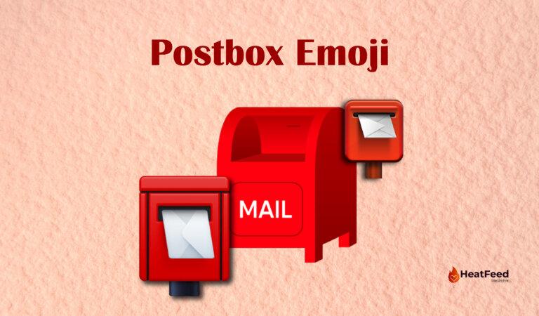 📮 Postbox Emoji