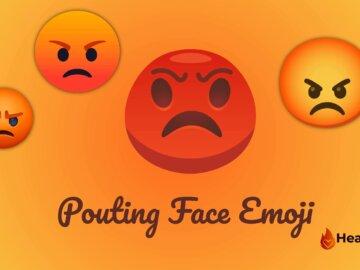 Pouting Face Emoji
