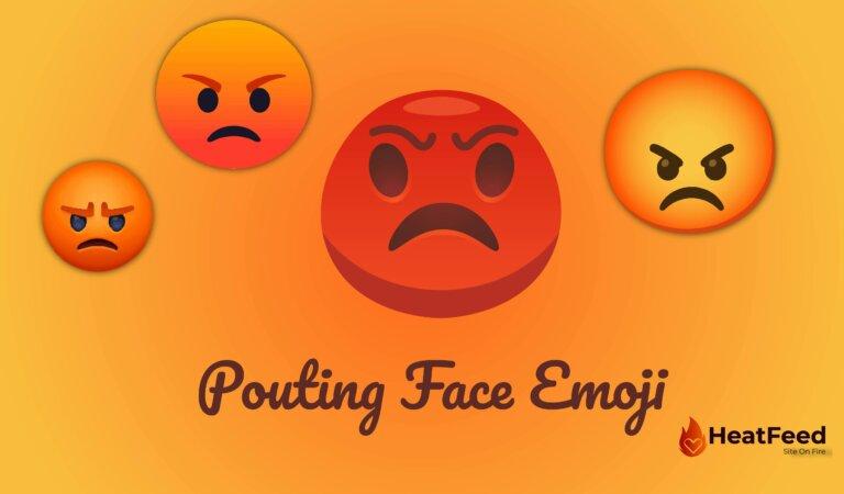 😡 Pouting Face Emoji