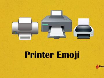 printer emoji