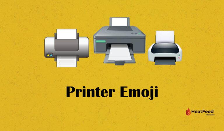 🖨️ Printer Emoji