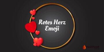 Rotes Herz Emoji