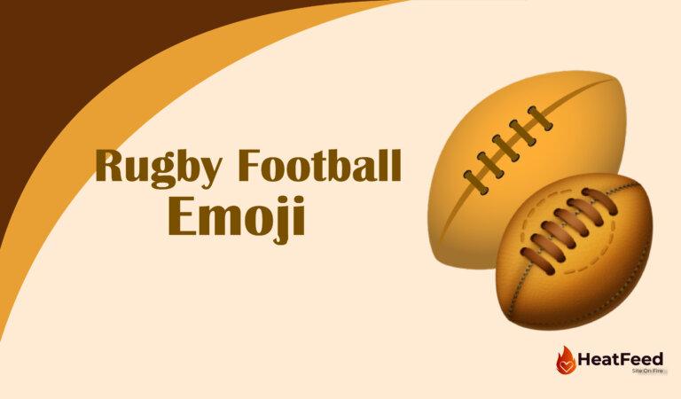 🏉 Rugby Football Emoji
