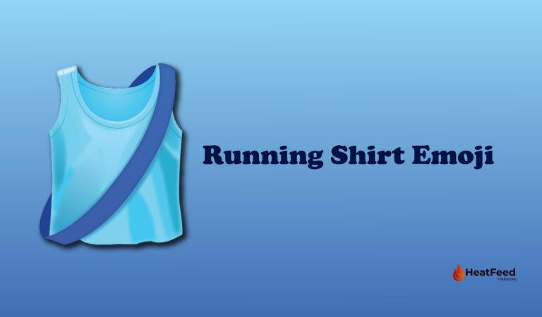 🎽 Running Shirt Emoji