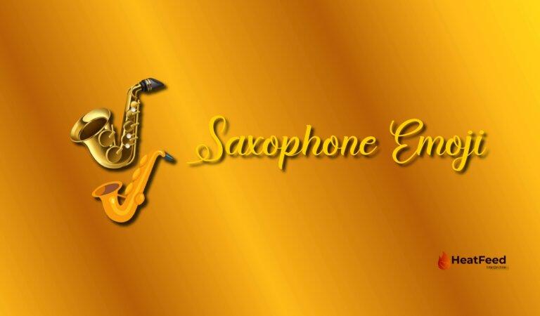 🎷 Saxophone Emoji