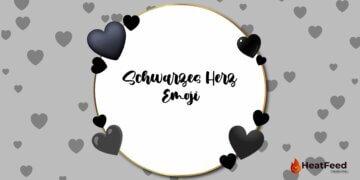 Schwarzes Herz Emoji