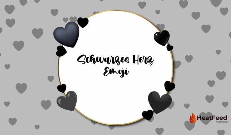 🖤 Schwarzes Herz Emoji