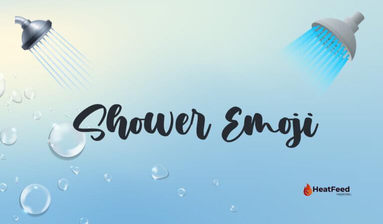 🚿 Shower Emoji