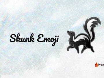 skunk emoji