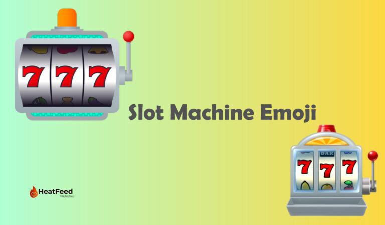 🎰 Slot Machine Emoji