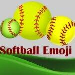 Softball emoji