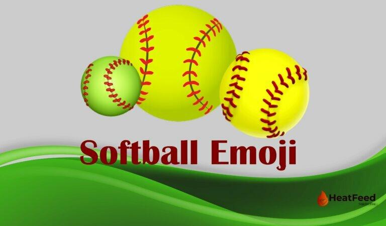 🥎 Softball Emoji