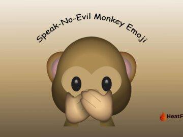 speak no evil monkey emoji