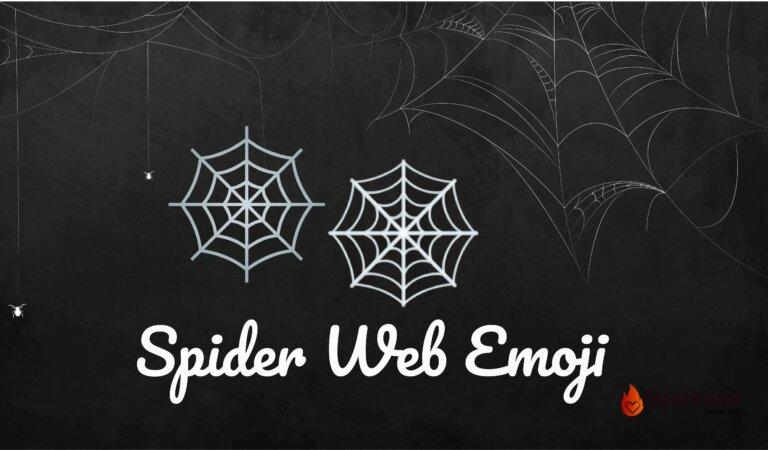 🕸️Spider Web Emoji